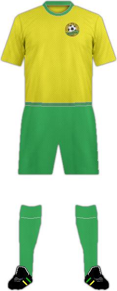 Equipación FC KUBAN