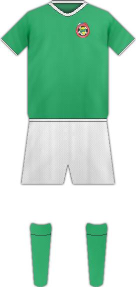 Equipación FC METALLURD-KUZBASS