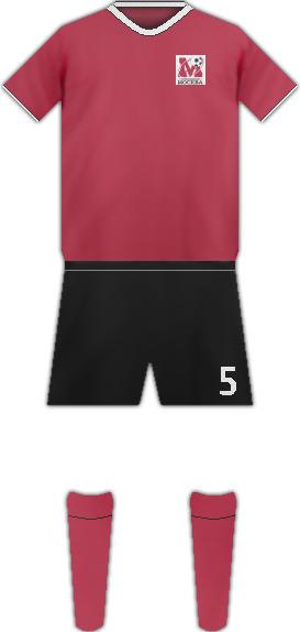 Equipación FC MOSCU