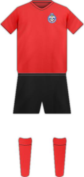 Equipación FC SALYUT