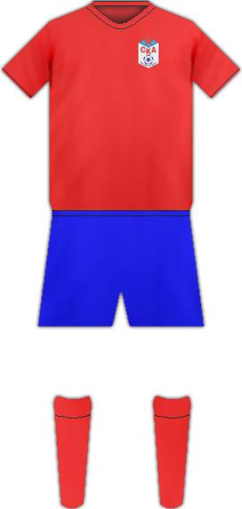 Equipación FC SKA ROSTOV DEL DON
