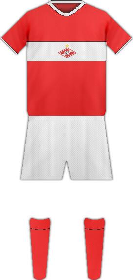 Equipación FC SPARTAK DE MOSCU