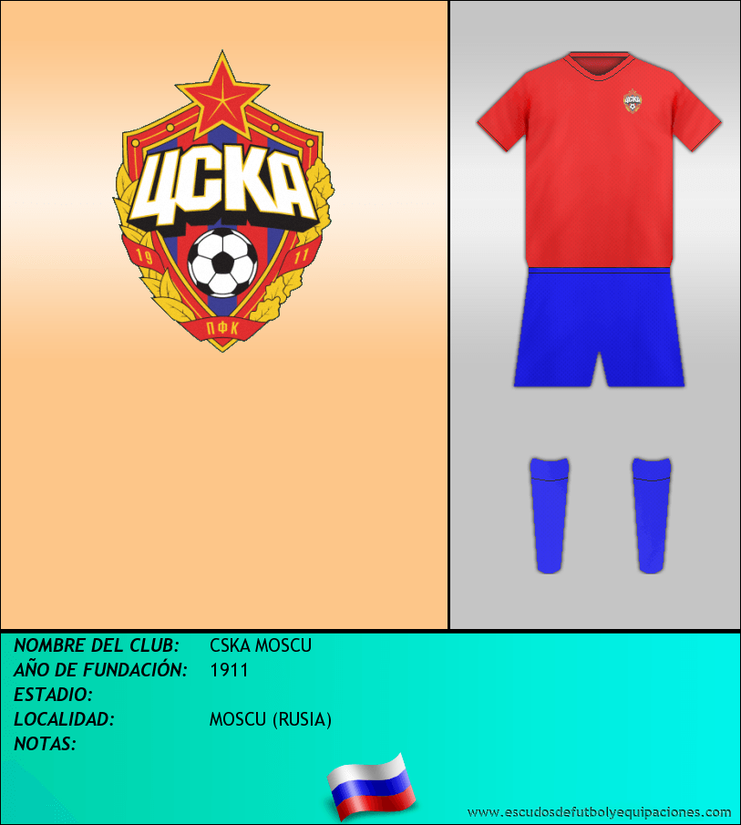 Escudo de CSKA MOSCU
