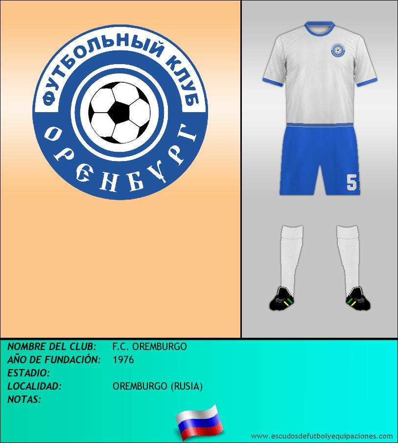 Escudo de F.C. OREMBURGO