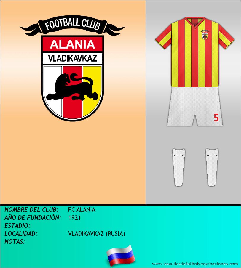 Escudo de FC ALANIA