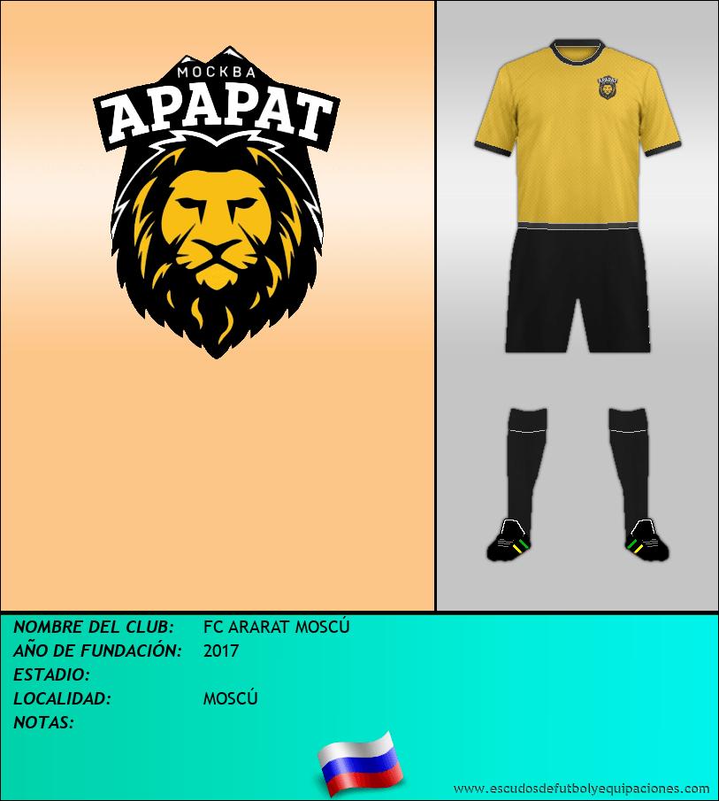 Escudo de FC ARARAT MOSCÚ