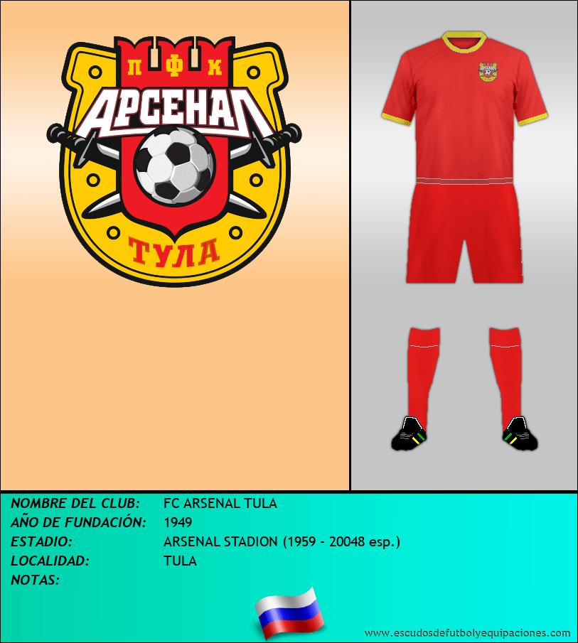 Escudo de FC ARSENAL TULA
