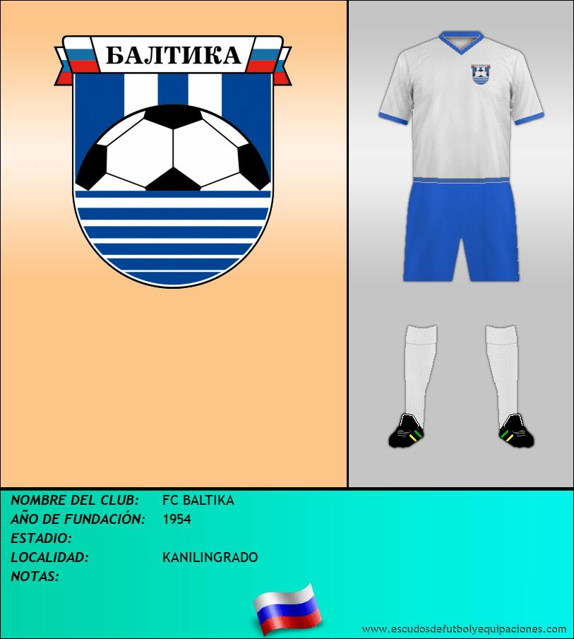 Escudo de FC BALTIKA