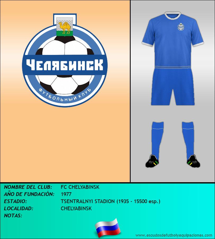 Escudo de FC CHELYABINSK