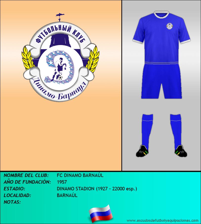 Escudo de FC DINAMO BARNAÚL