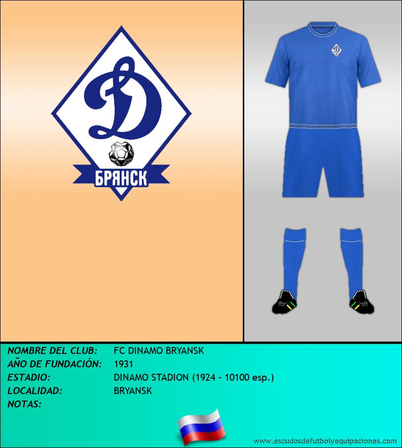Escudo de FC DINAMO BRYANSK