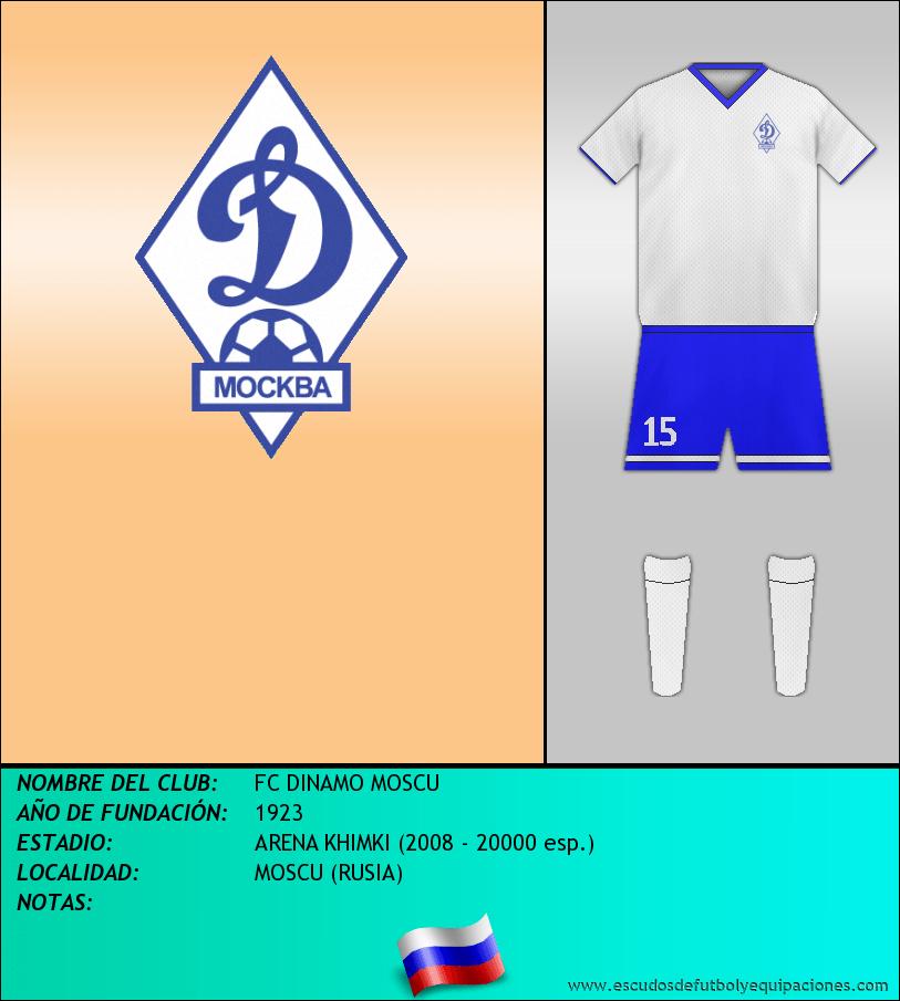 Escudo de FC DINAMO MOSCU