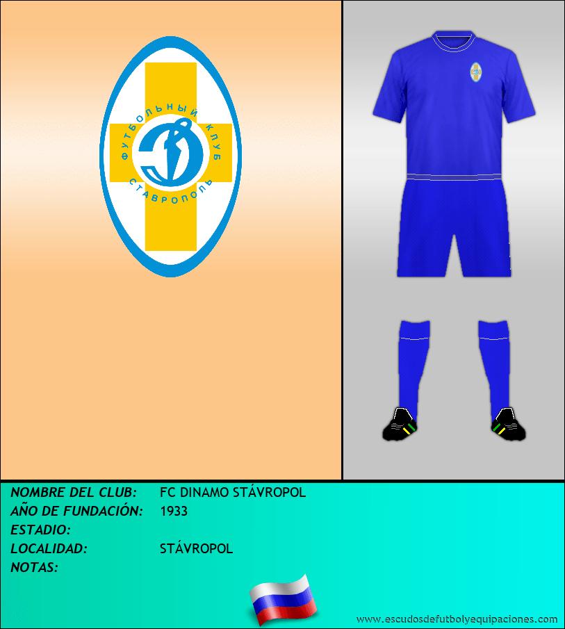 Escudo de FC DINAMO STÁVROPOL