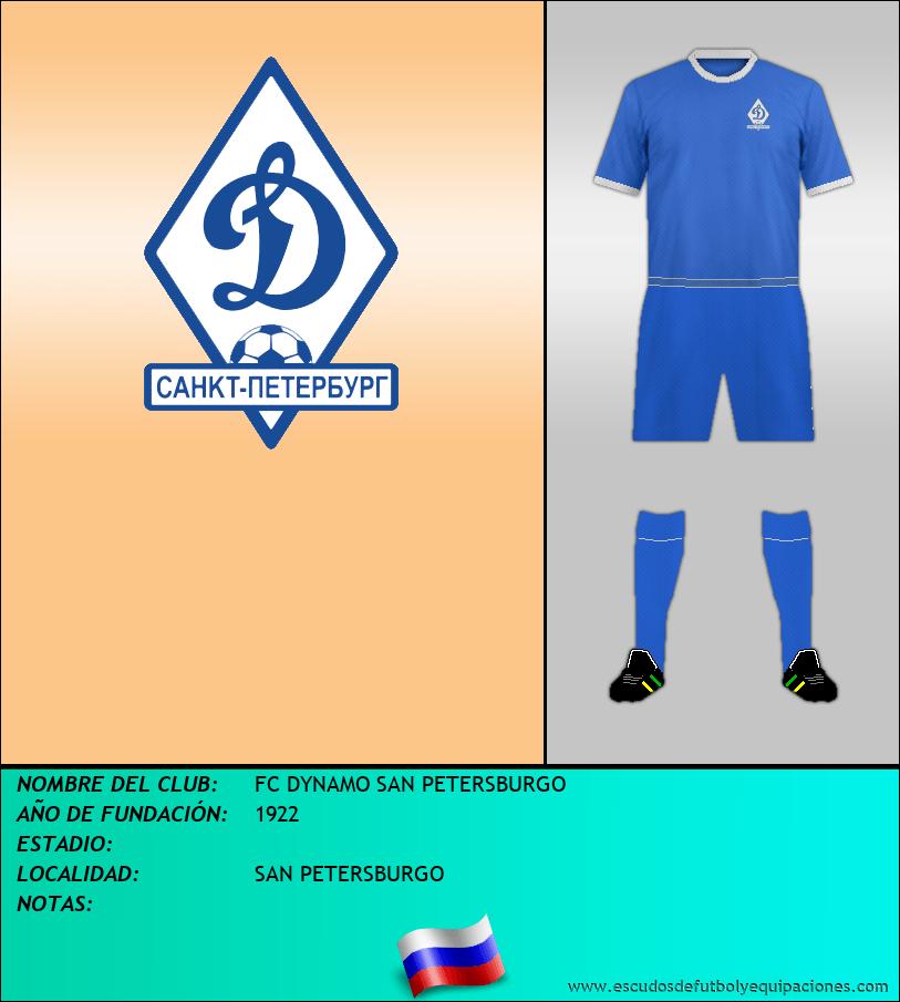 Escudo de FC DYNAMO SAN PETERSBURGO