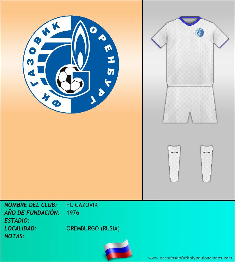 Escudo de FC GAZOVIK