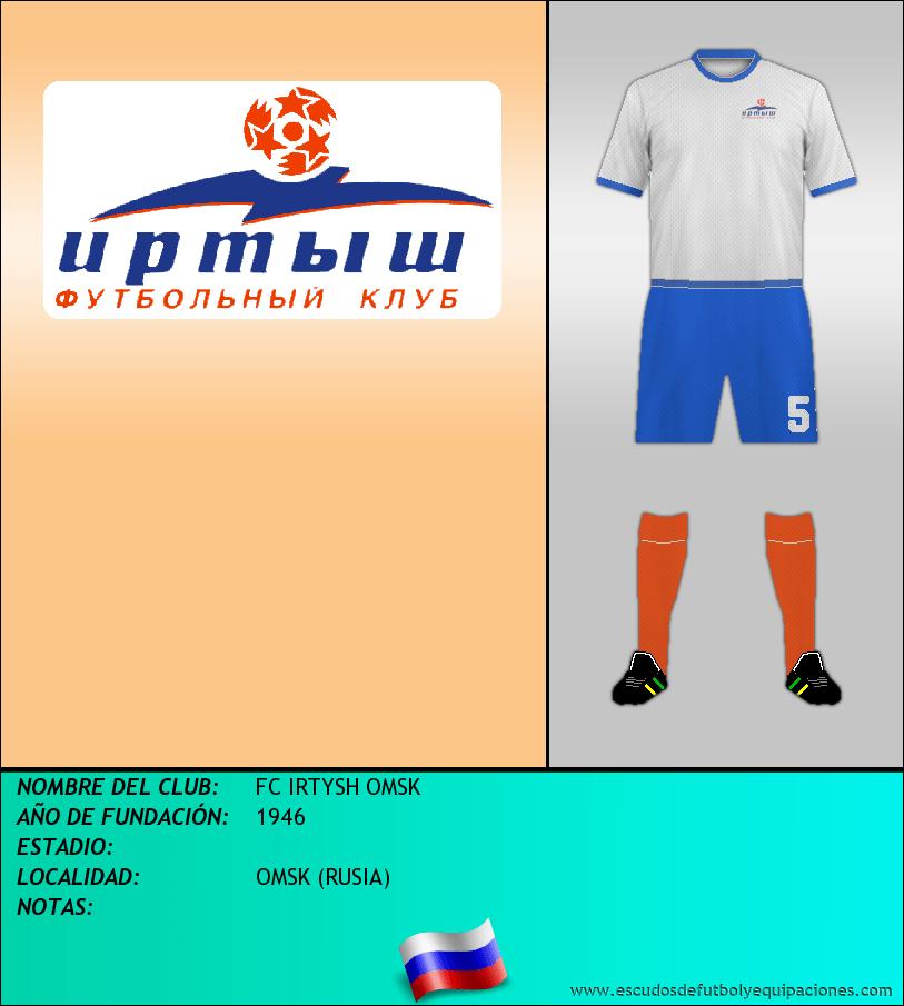 Escudo de FC IRTYSH OMSK