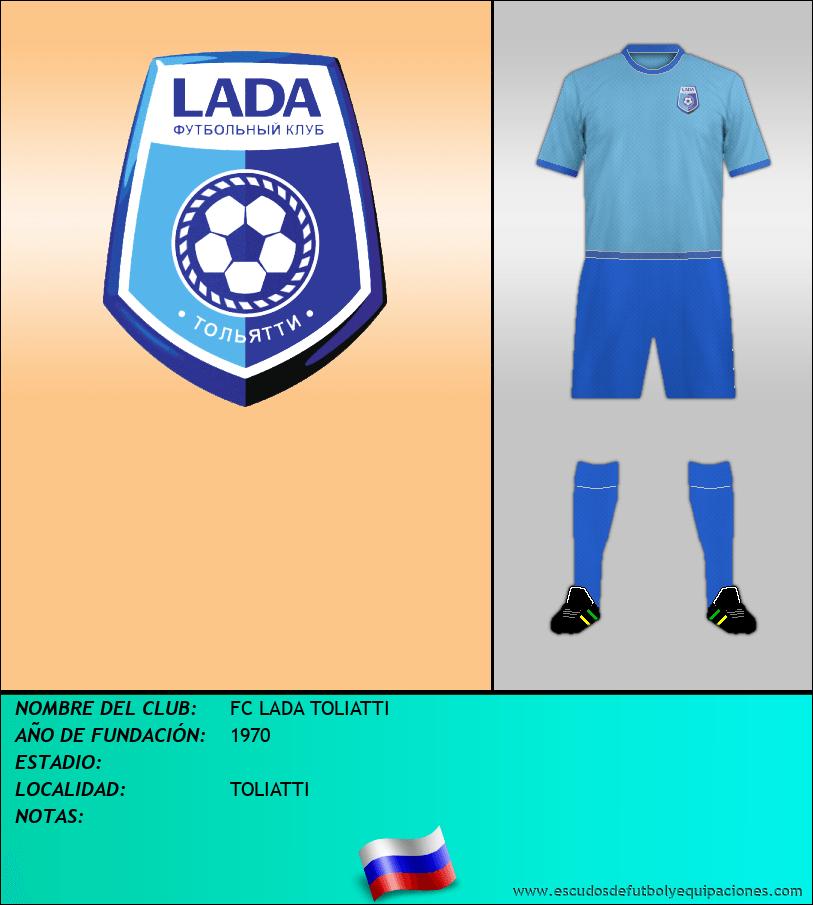 Escudo de FC LADA TOLIATTI