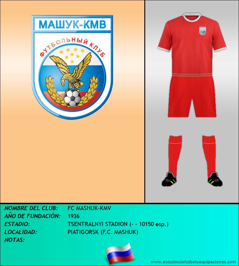 Escudo de FC MASHUK-KMV