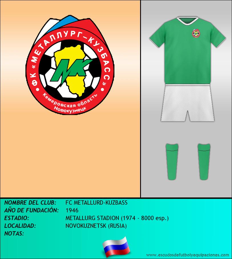 Escudo de FC METALLURD-KUZBASS