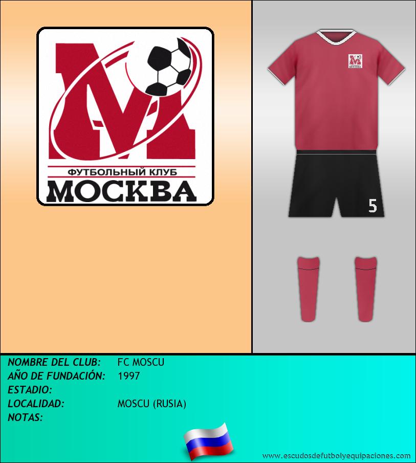 Escudo de FC MOSCU