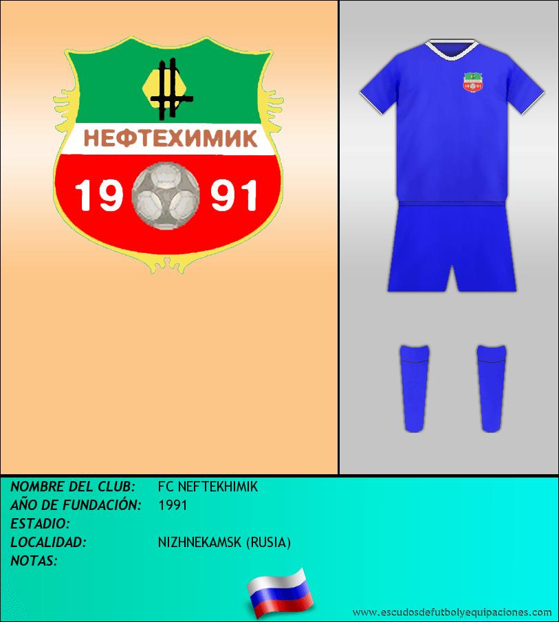Escudo de FC NEFTEKHIMIK