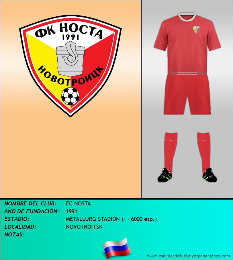 Escudo de FC NOSTA
