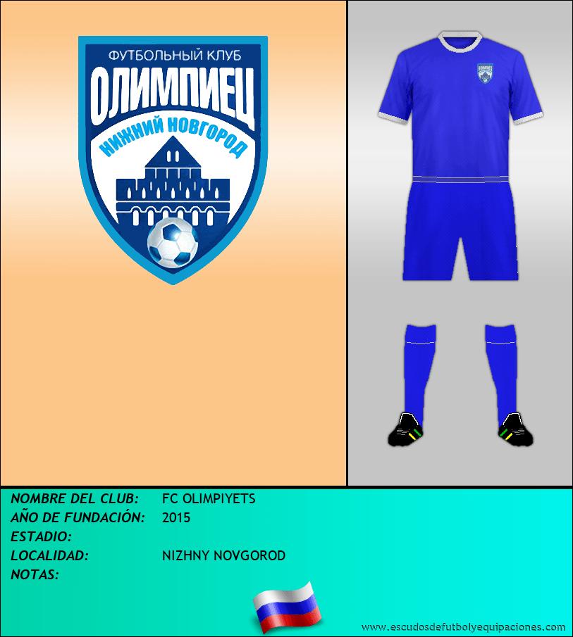 Escudo de FC OLIMPIYETS