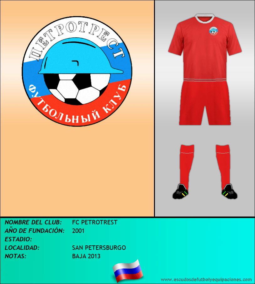 Escudo de FC PETROTREST