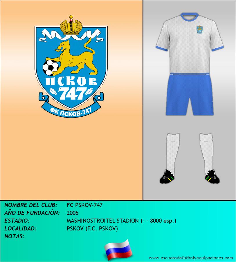 Escudo de FC PSKOV-747