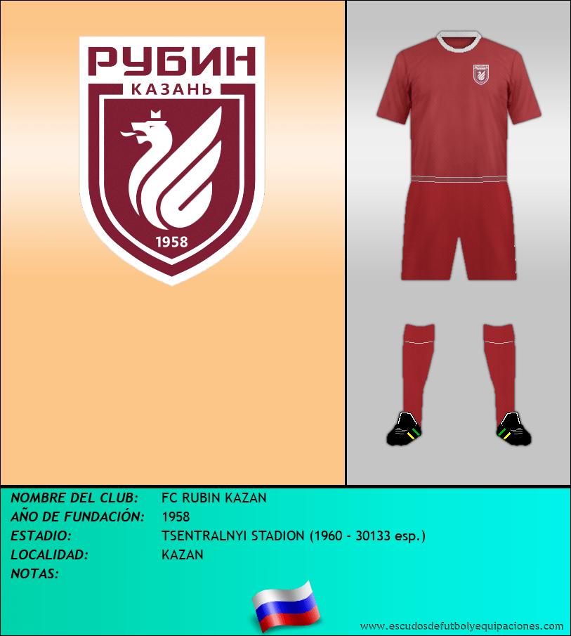 Escudo de FC RUBIN KAZAN