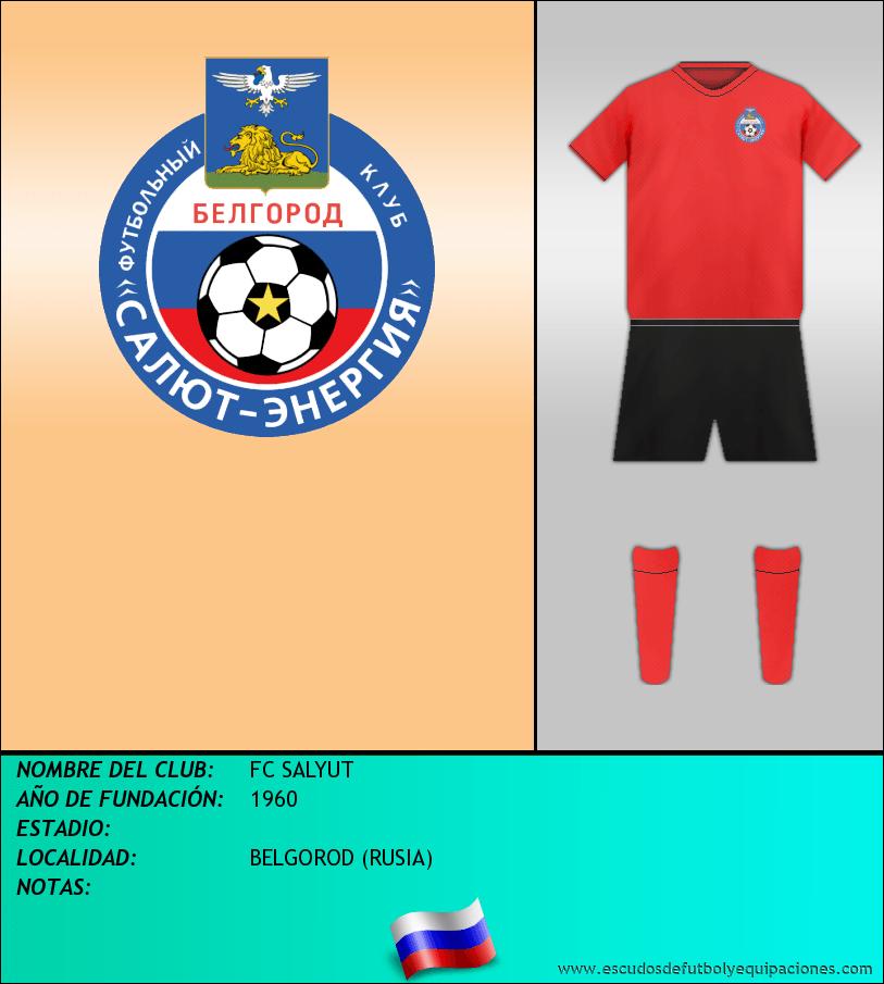 Escudo de FC SALYUT