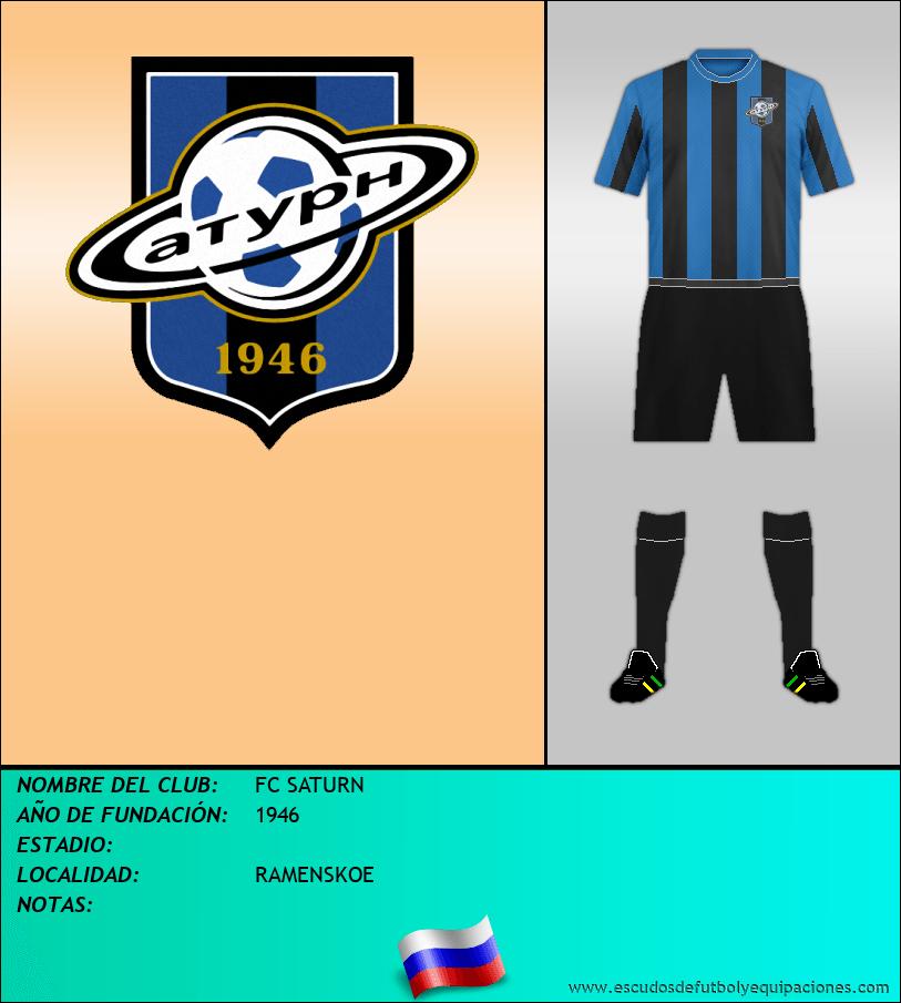 Escudo de FC SATURN
