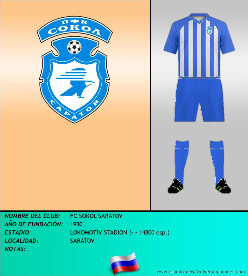 Escudo de FC SOKOL SARATOV