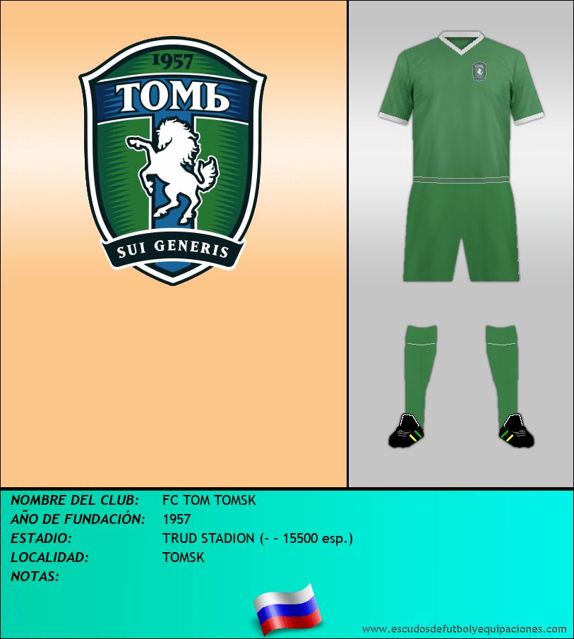Escudo de FC TOM TOMSK