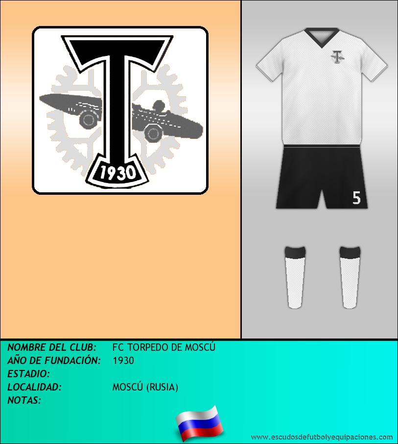 Escudo de FC TORPEDO DE MOSCÚ