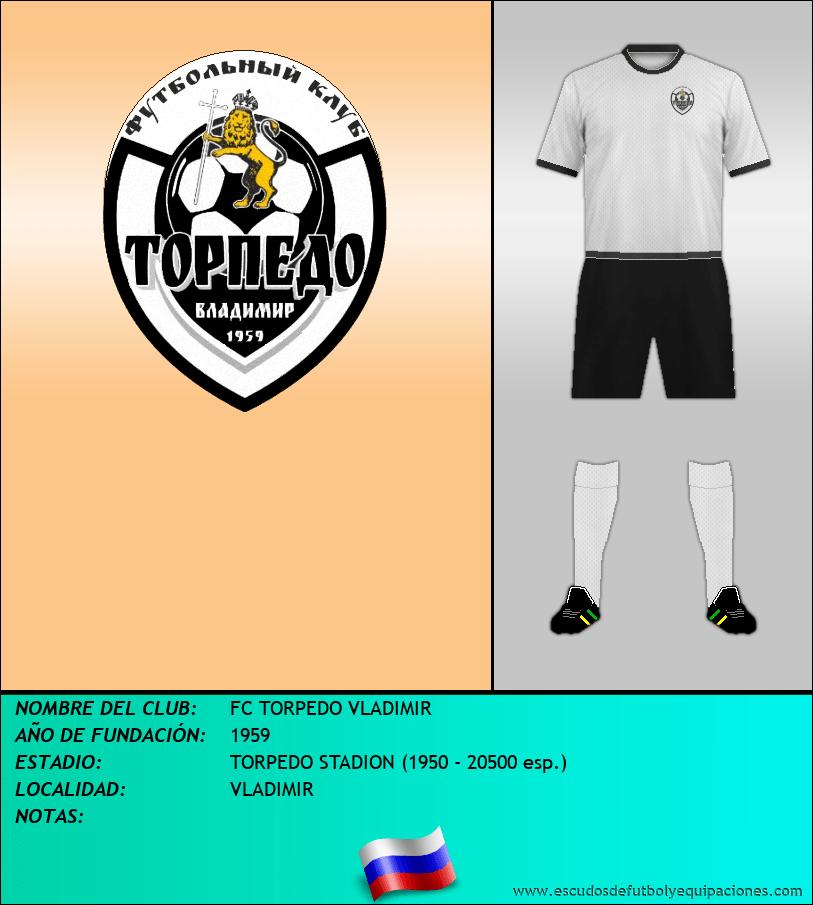 Escudo de FC TORPEDO VLADIMIR