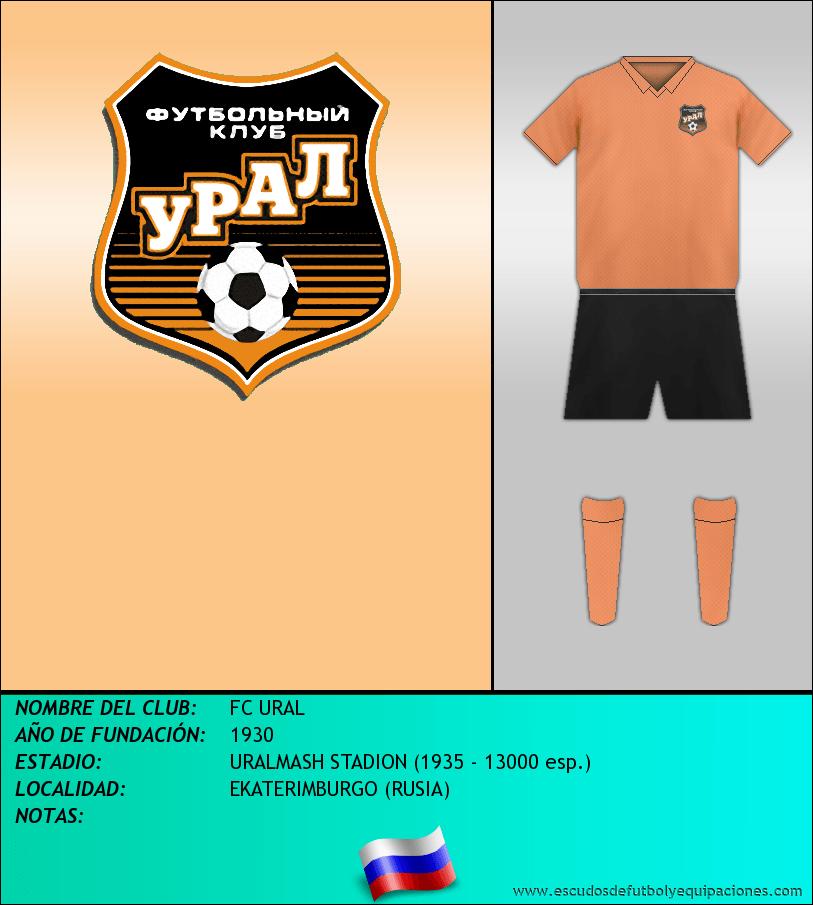 Escudo de FC URAL