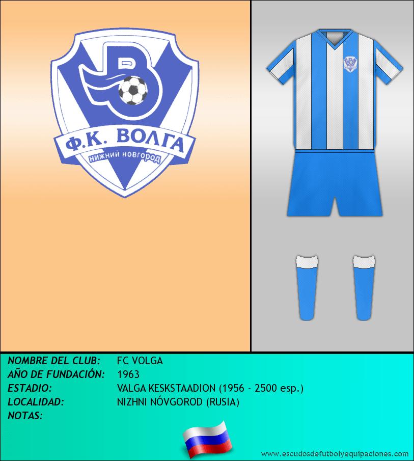 Escudo de FC VOLGA