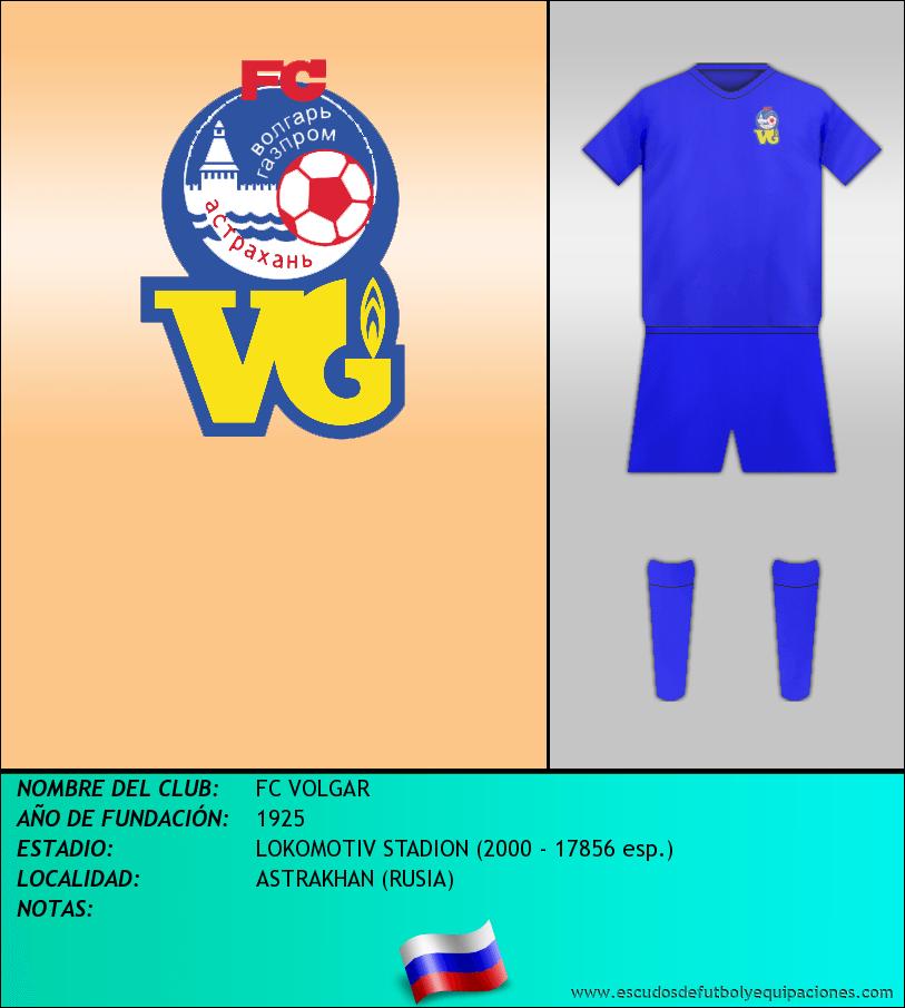 Escudo de FC VOLGAR