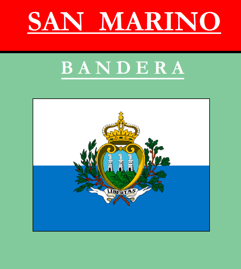 Escudo de BANDERA DE SAN MARINO