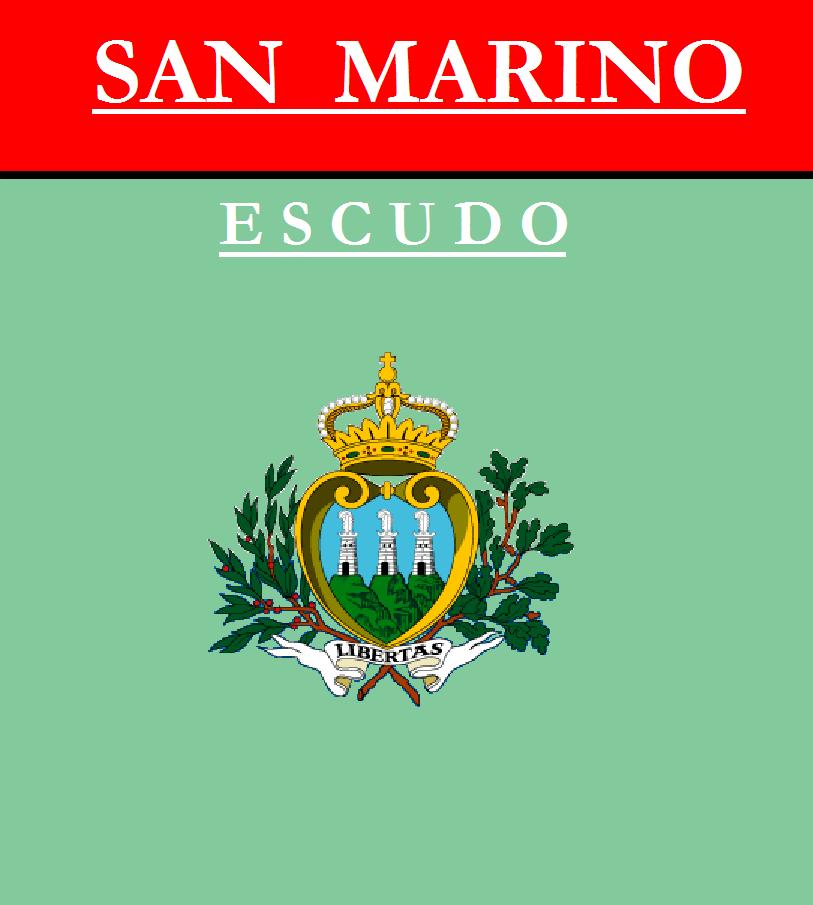Escudo de ESCUDO DE SAN MARINO