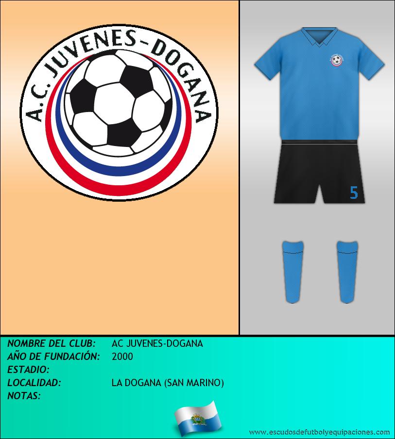 Escudo de AC JUVENES-DOGANA