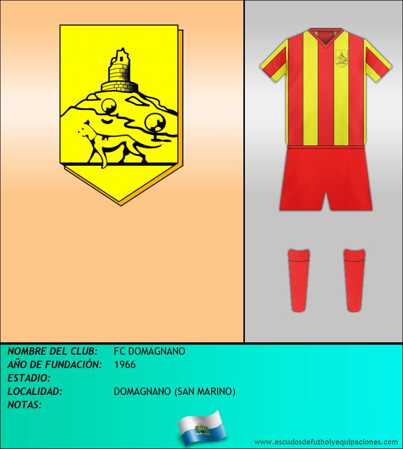 Escudo de FC DOMAGNANO