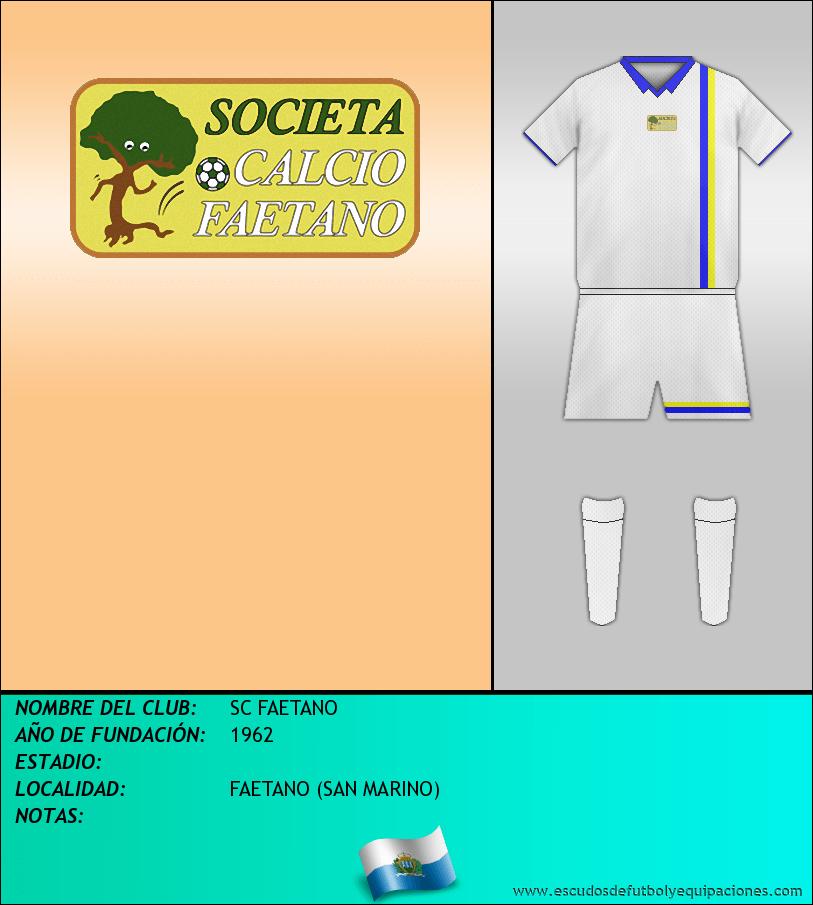 Escudo de SC FAETANO