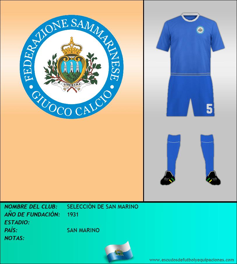 Escudo de SELECCIÓN DE SAN MARINO