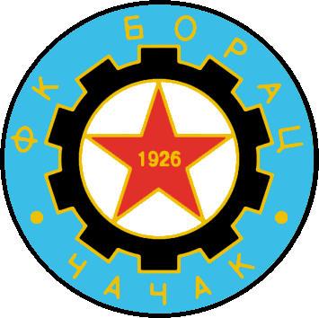 Escudo de FK BORAC CACAK (SERBIA)