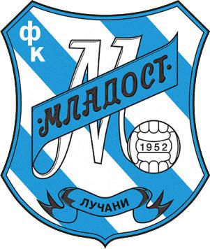 Escudo de FK MLADOST LUCANI (SERBIA)