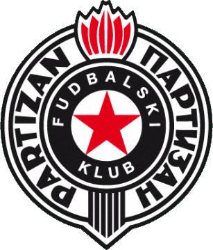 Escudo de FK PARTIZAN (SERBIA)