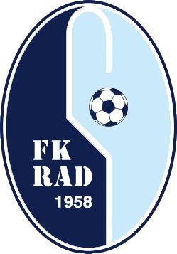 Escudo de FK RAD (SERBIA)