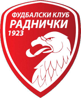 Escudo de FK RADNICKI KRAGUJEVAC (SERBIA)
